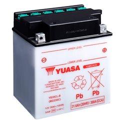 BATERÍA YUASA YB30CL-B DRY CHARGED (SIN ELECTROLITO)