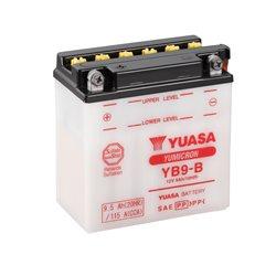 BATERÍA YUASA YB9-B COMBIPACK (CON ELECTROLITO)