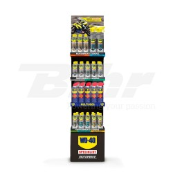 KIT WD-40 SPECIALIST MOTORBIKE: STAND + PRODUCTOS