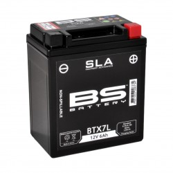 BATERÍA BS BATTERY SLA BTX7L (FA)