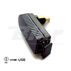 ADAPTADOR CLAVIJA BMW/TRIUMPH BAAS USB4 MINI DIN-USB INTEGRADO