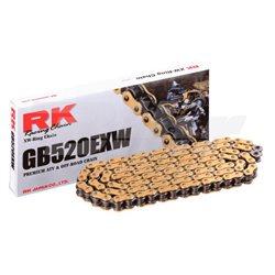 CADENA RK GB520EXW CON 80 ESLABONES ORO