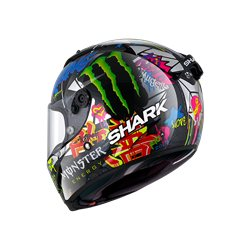 SHARK RACE-R PRO CARBON LORENZO CATAL. GP CROMADO VERDE