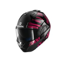 SHARK EVO ONE 2 LITHION DUAL NEGRO CROMO ROSA