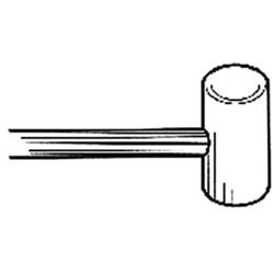 CABLE DESCOMPRESOR Ø1,3 / Ø8x5 /1500 mm