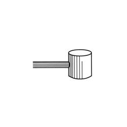 CABLE FRENO C/MARTILLO INOX
