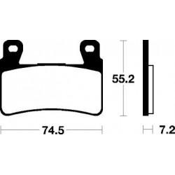 HYOSUNG GT i 650 (13-16) DELANTERAS BREMBO