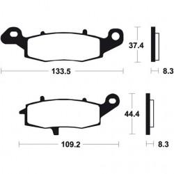 SUZUKI BANDIT S (right caliper) 650 (05-16) DELANTERAS BREMBO