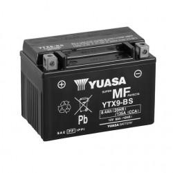 BATERIA MOTO YUASA YTX9-BS COMBIPACK (CON ELECTROLITO)