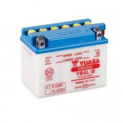 BATERIA MOTO YUASA YB4L-B COMBIPACK (CON ELECTROLITO)