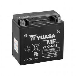 BATERIA MOTO YUASA YTX14-BS COMBIPACK (CON ELECTROLITO)