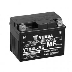 BATERIA MOTO YUASA YTX4L-BS COMBIPACK (CON ELECTROLITO)