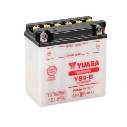 BATERIA MOTO YUASA YB9-B COMBIPACK (CON ELECTROLITO)