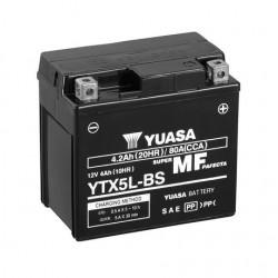 BATERIA MOTO YUASA YTX5L-BS COMBIPACK (CON ELECTROLITO)