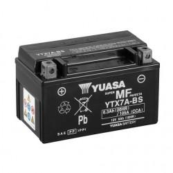 BATERIA MOTO YUASA YTX7A-BS COMBIPACK (CON ELECTROLITO)