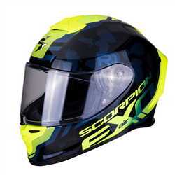 SCORPION EXO-R1 AIR OGI NEGRO AMARILLO FLUO