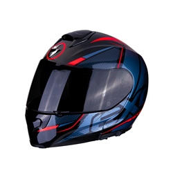 SCORPION EXO 3000 AIR CREED NEGRO ROJO