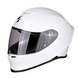 SCORPION EXO R1 AIR BLANCO PERLA