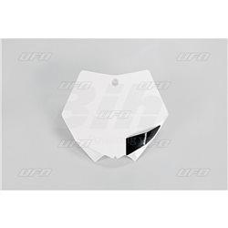 PORTANÚMEROS DELANTERO UFO KTM BLANCO KT03093-047