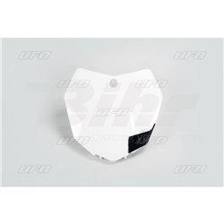 PORTANÚMEROS DELANTERO UFO KTM BLANCO KT04051-047